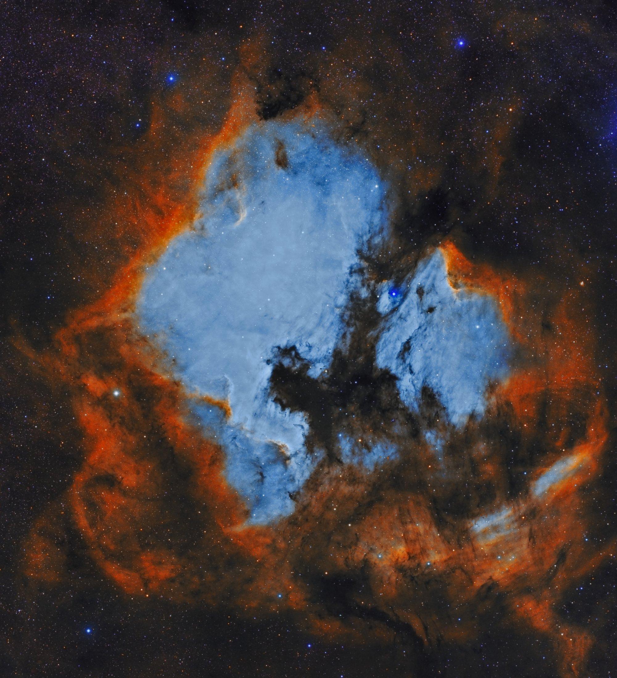 North America Nebula i Pelican Nebula - Ernesto Arredondo