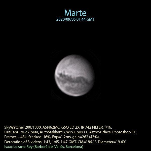 Marte - IR - Isaac Lozano