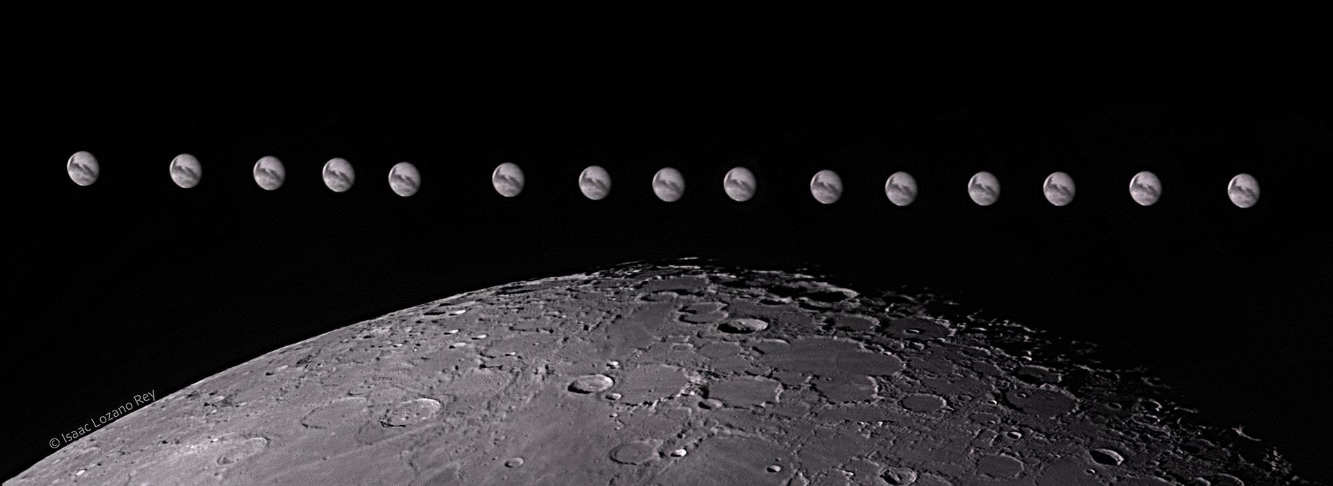Conjunción Luna-Marte 06-09-2020 - Isaac Lozano