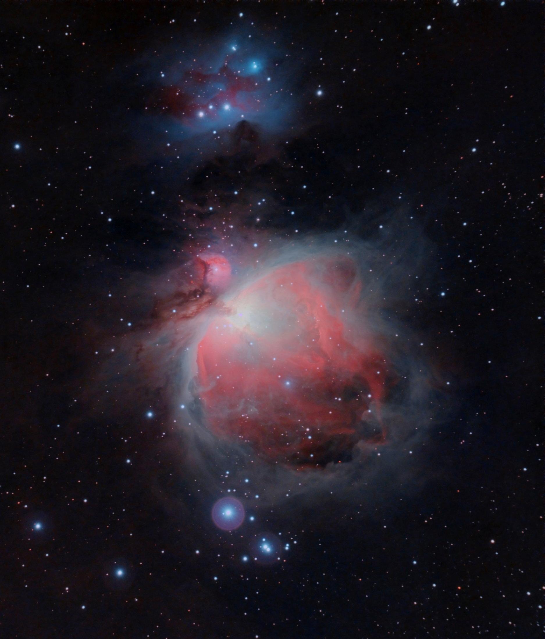 M42 - M43- NGC1977 - José Antonio Sanchez