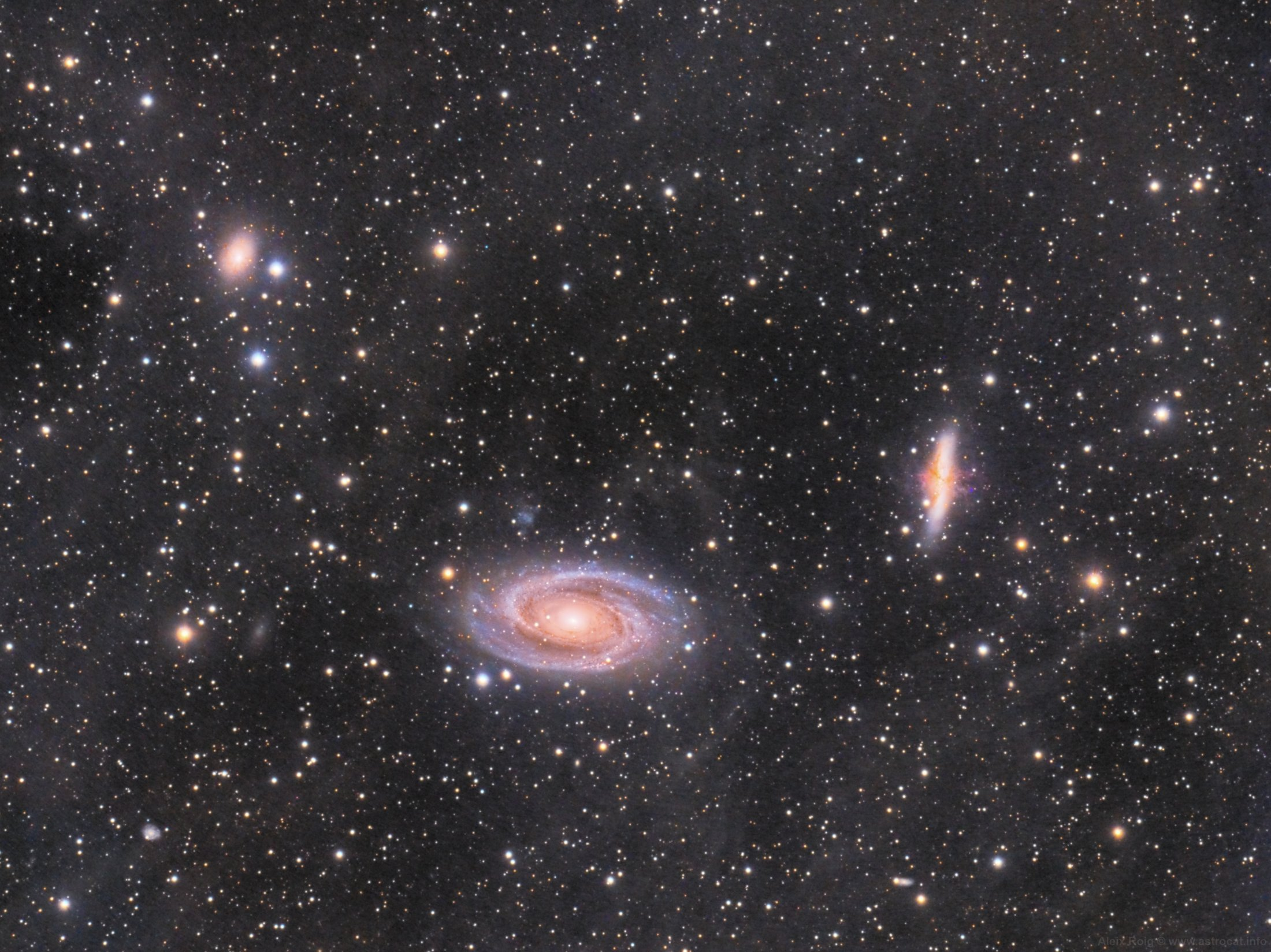 M81 - M82 - NGC3077 - Aleix Roig