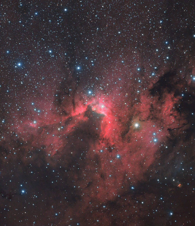 Cave Nebula Sh2-155 - Carlos Uriarte