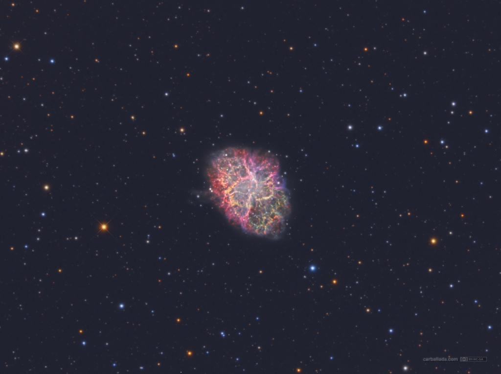 Crab Nebula - Jose Carballada