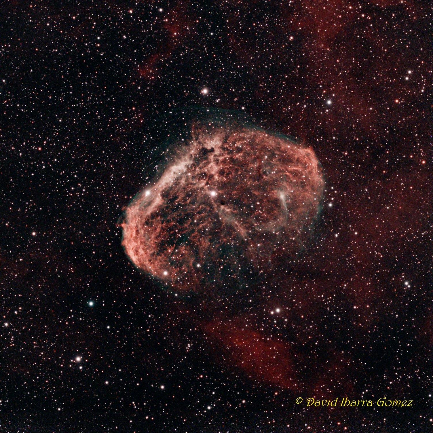 Crescent Nebula - David Ibarra