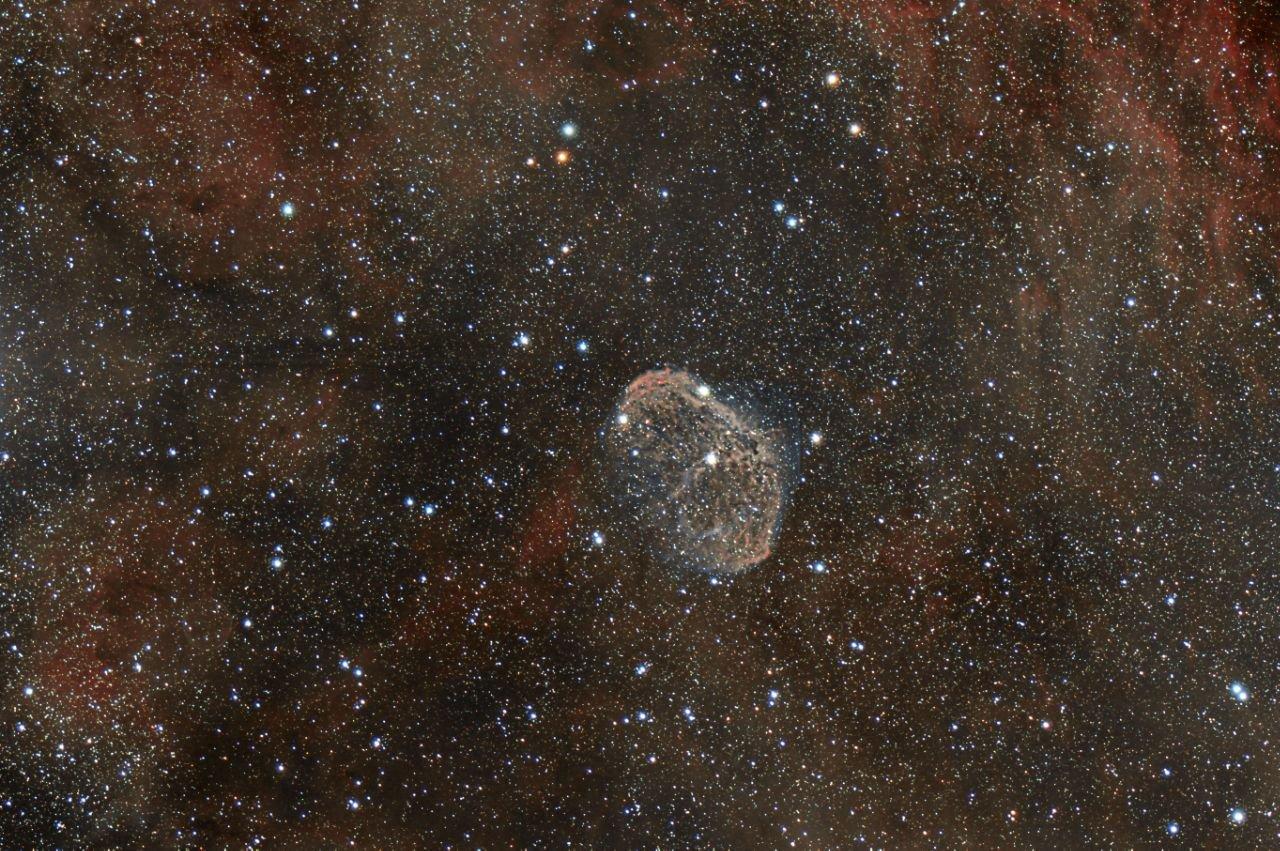 Crescent Nebula - Antonio Fabiani