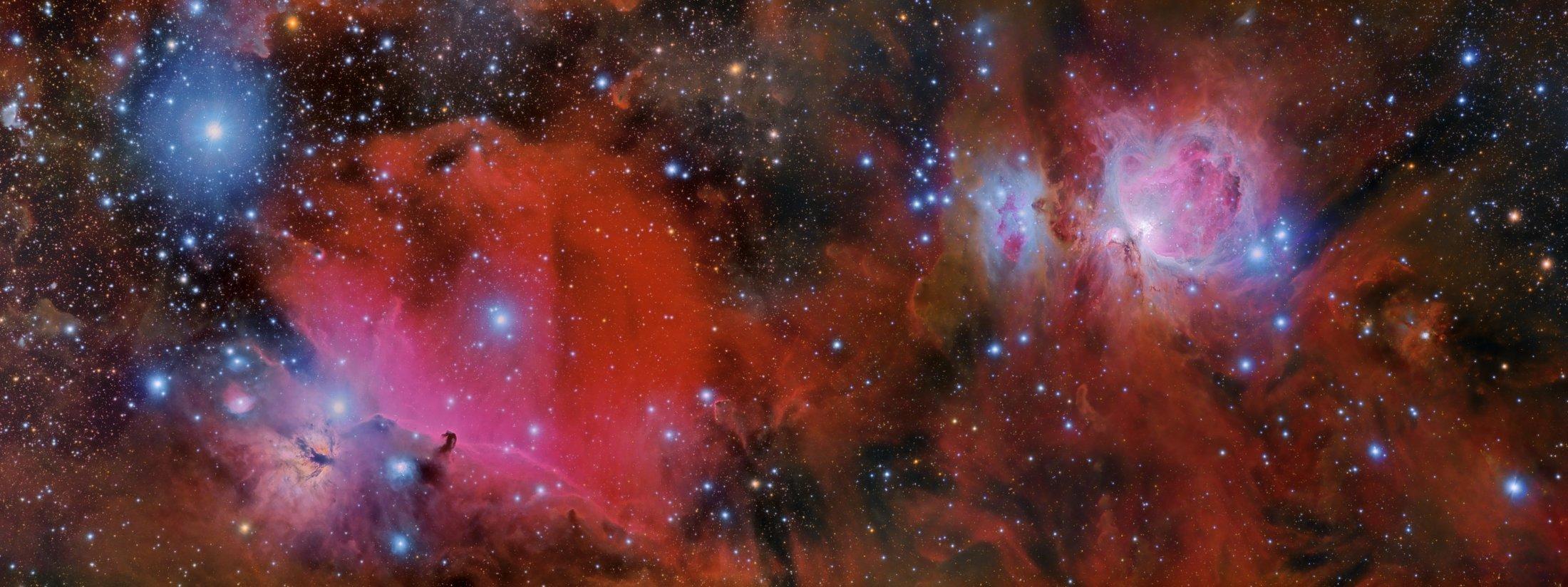 M42 i IC434 - Daniel Trueba