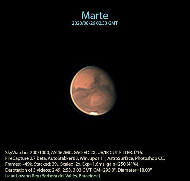 Marte - Isaac Lozano
