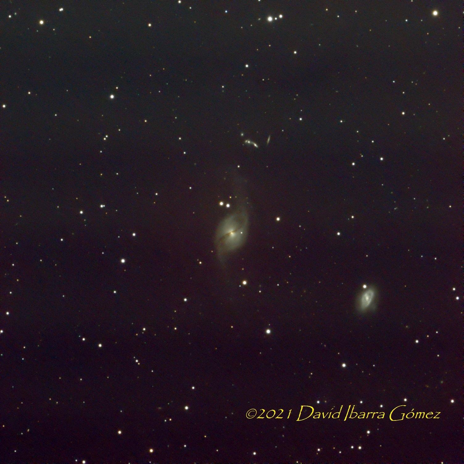 NGC 3718 - David Ibarra