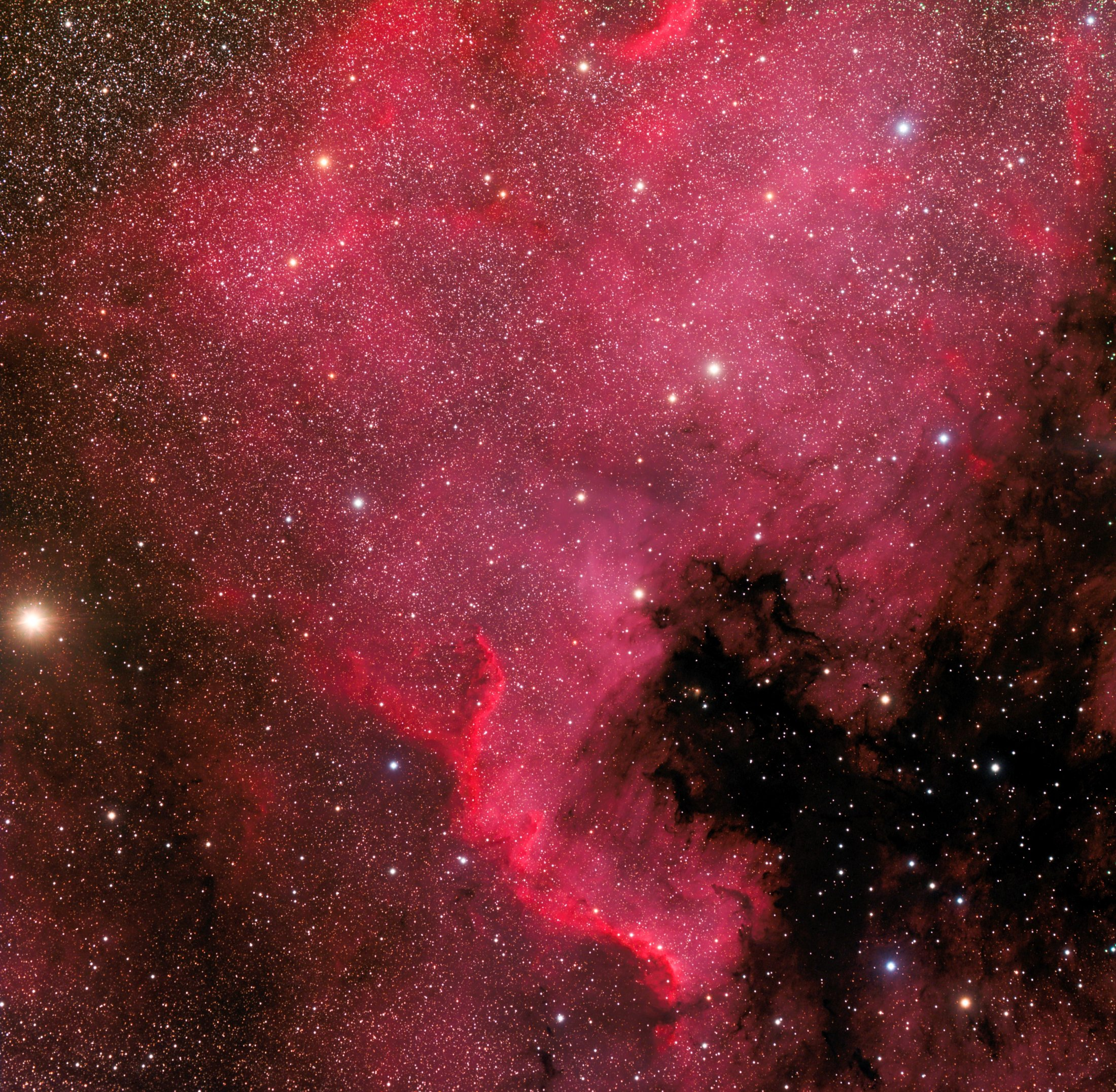 NGC7000 - Xavier Rubia