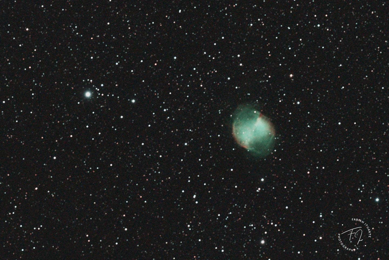 NGC 6853 - Sant Pere de Ribes - Fabián Ituarte