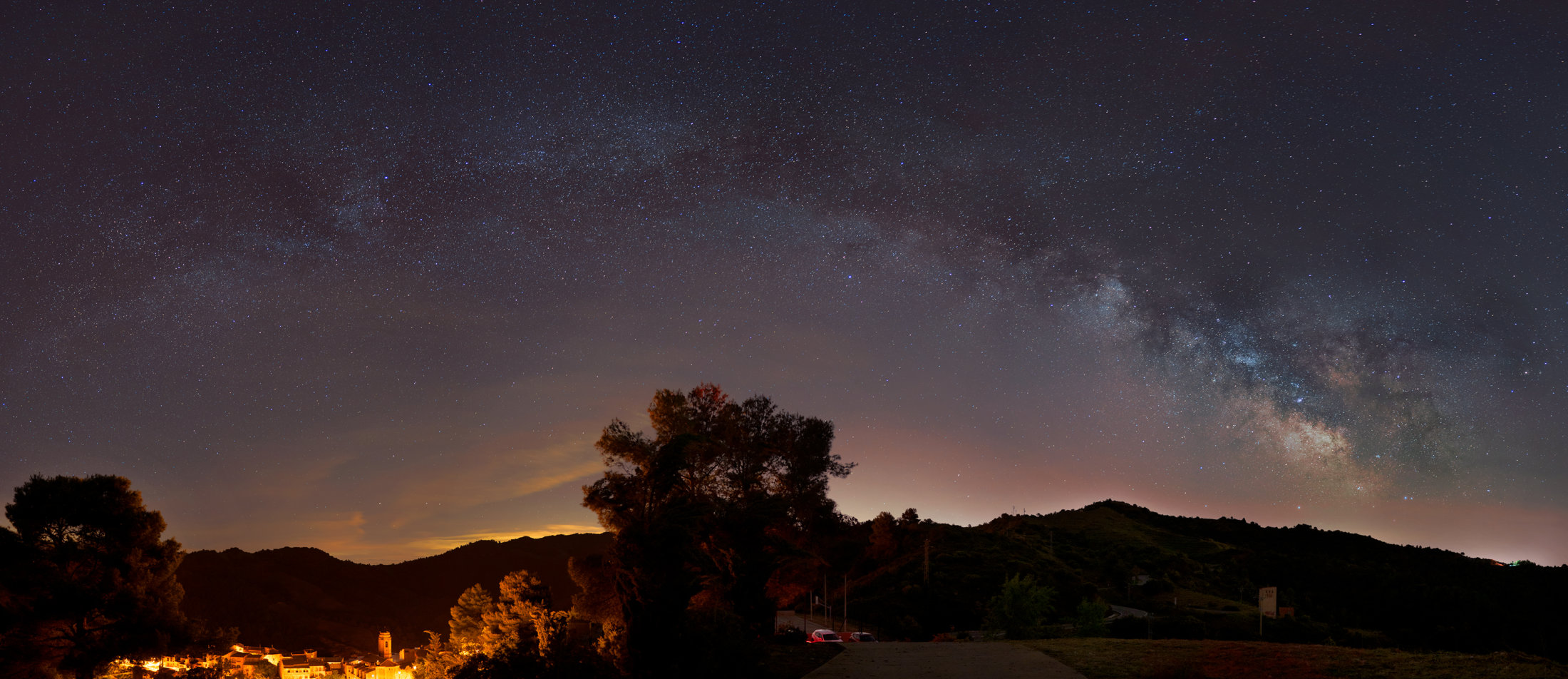 Via Làctea a Torroja del Priorat - Carlos Uriarte