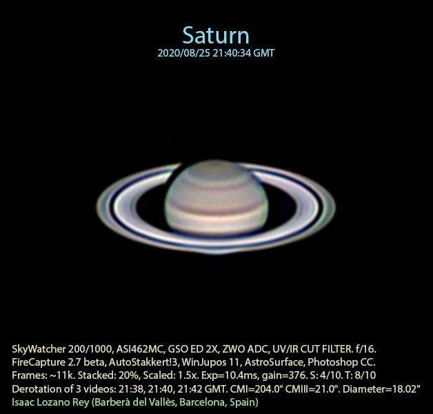 Saturno - Isaac Lozano