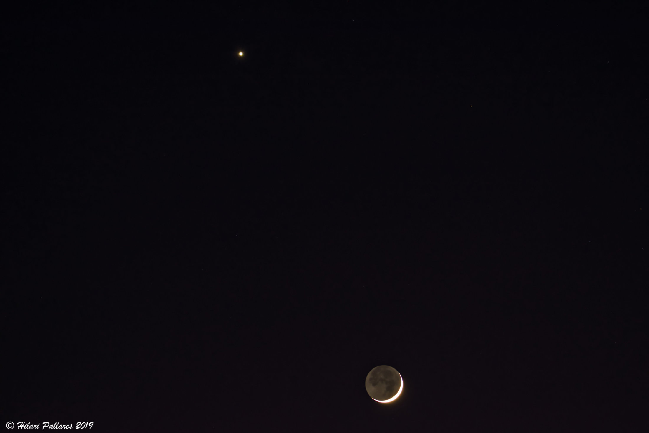 Venus y Luna - Hilari Pallares